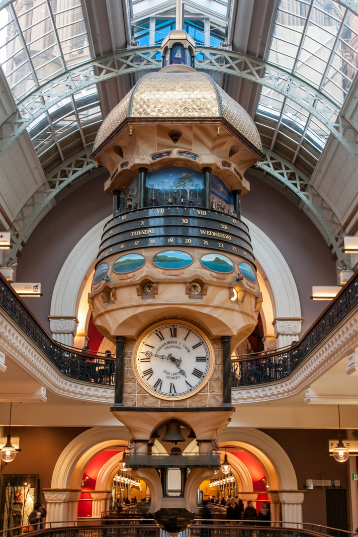 The Great Australian Clock im Queen Victoria Building, Sydney