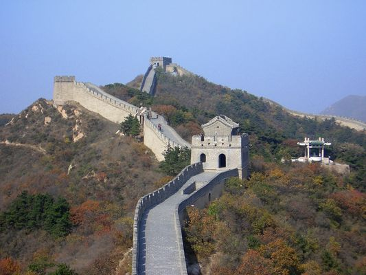 the great wall (Badaling)