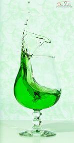 The green splash