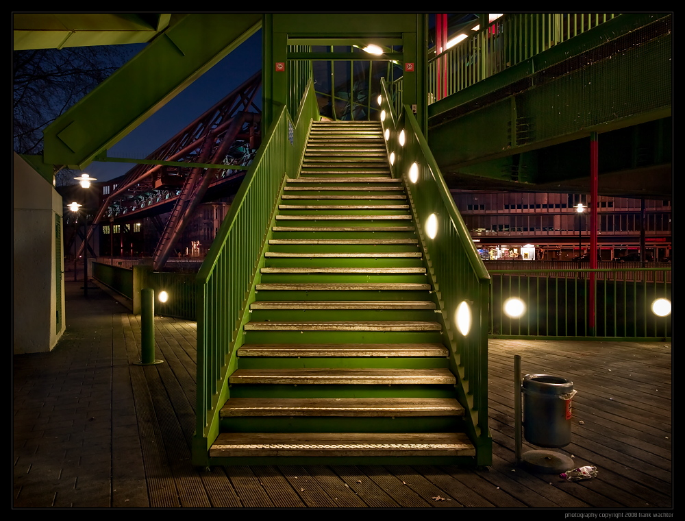 • The Green Stairs •