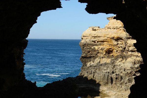 The Grotto, die Umrisse von Australien ? Great Ocean Road