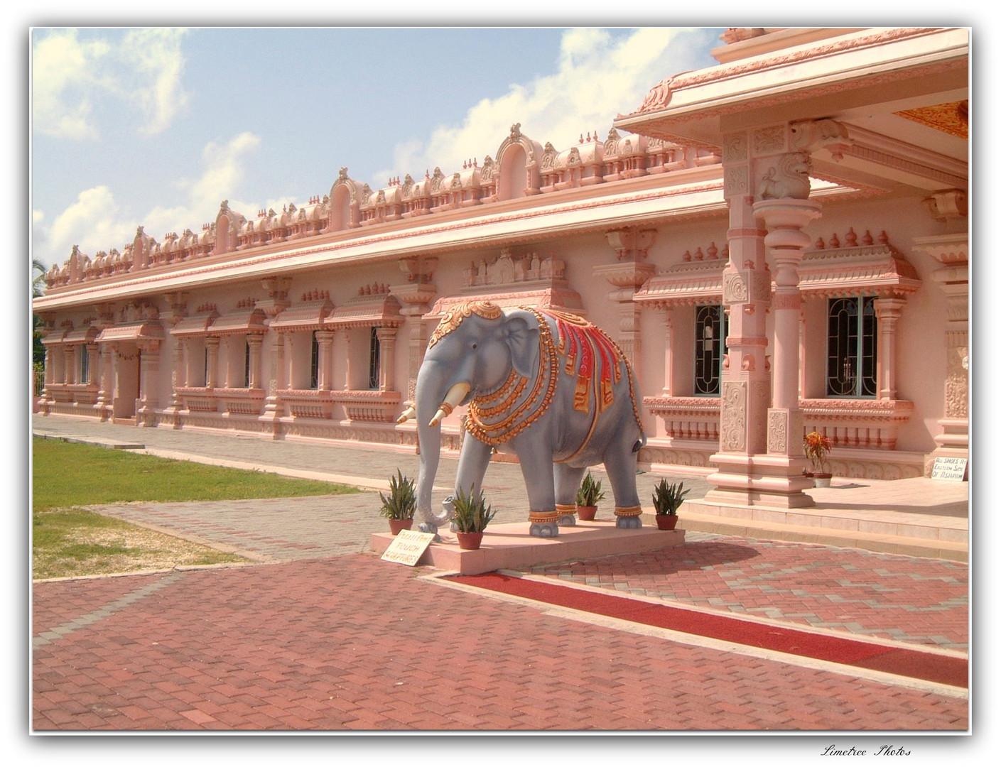The Hindu Temple near Port of Spain