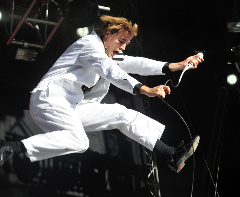 The Hives gestern bei Rock am See