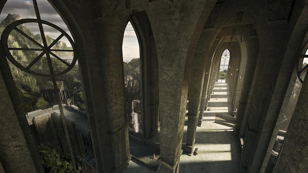 ~ The Holy Halls ~