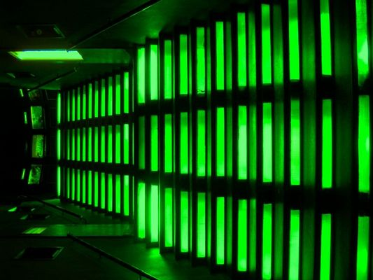The house of green light