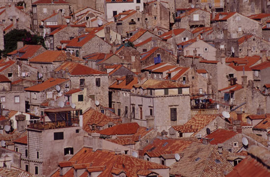 The Houses of Dubrovnik