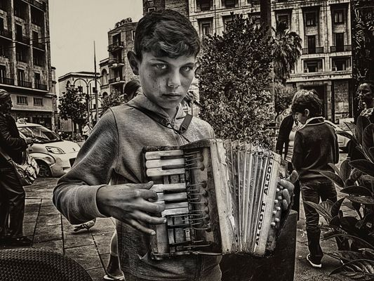 The Hypnotic Accordion ......... The end