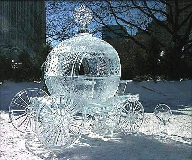 The ice carriage