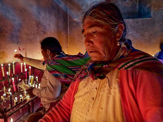 The ilumination of Indigenous Prayer