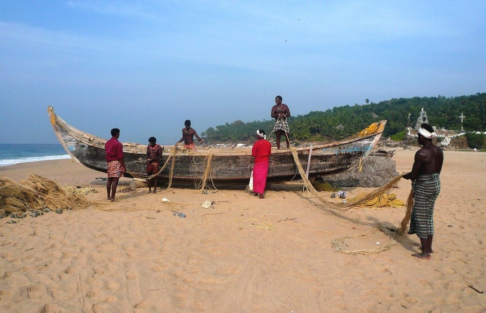 THE INDIAN FISHERMEN
