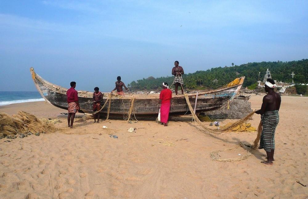 THE INDIAN FISHERMEN