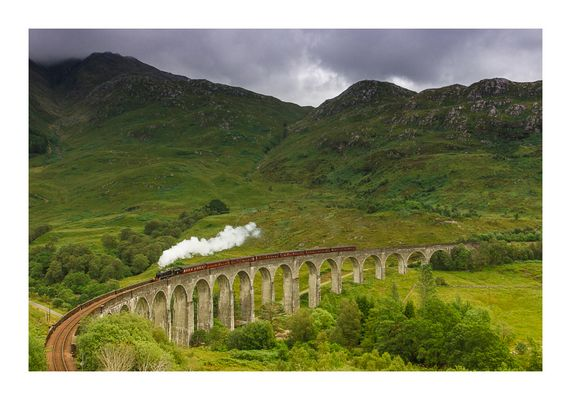 The Jacobite @ Glenfinnan Viaduct