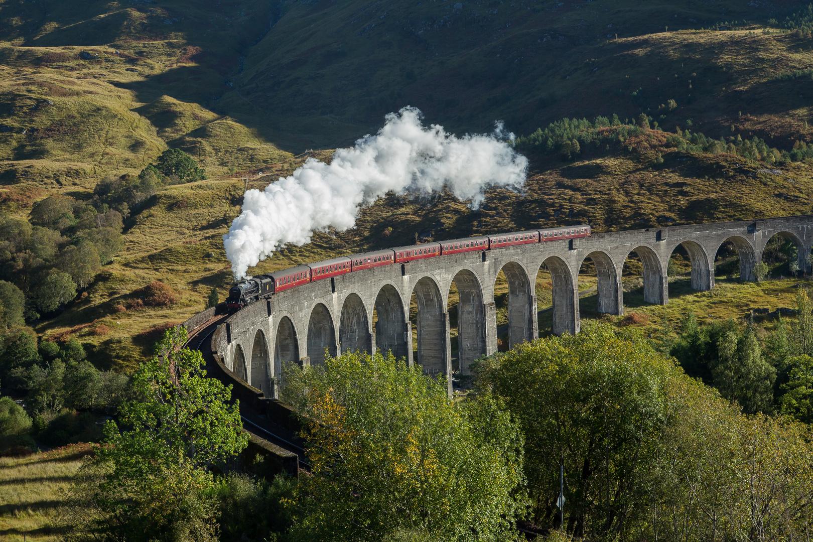 The Jacobite Steam Train - Harry Potter lässt grüssen