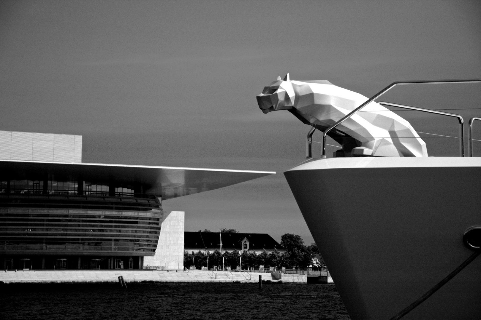 The Jump - Entering the (Copenhagen) Opera House