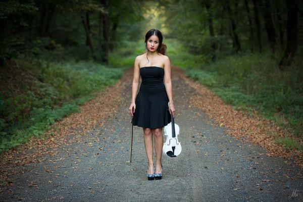 the lady and the violin -2-