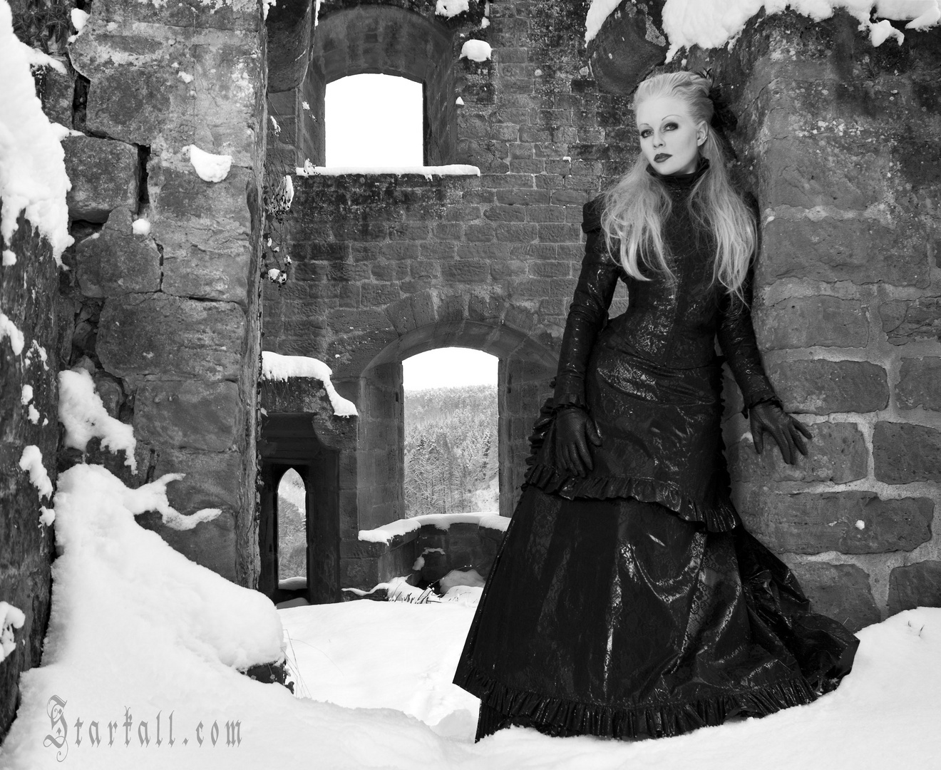 The Lady of Castle Frankenstein