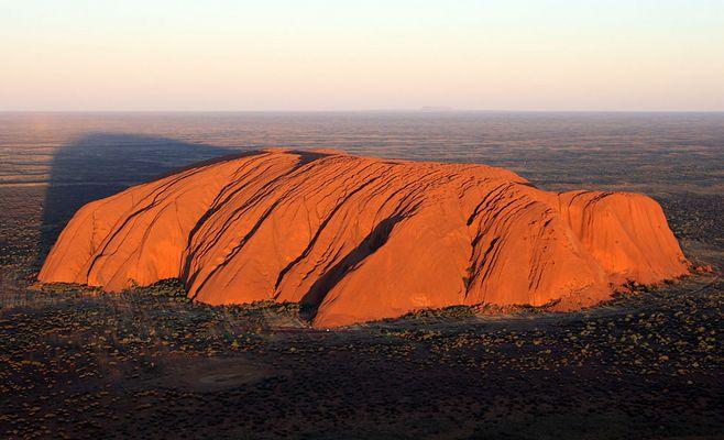 The Large Body of Uluru