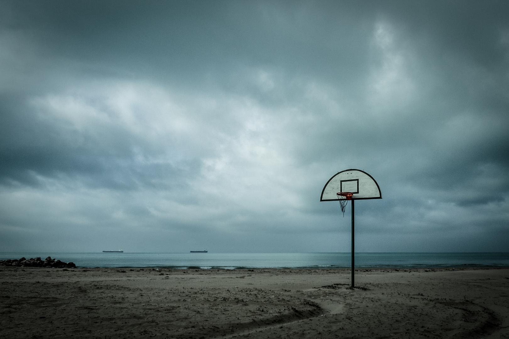 ... the last basket !
