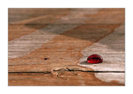 The last drop of wine
