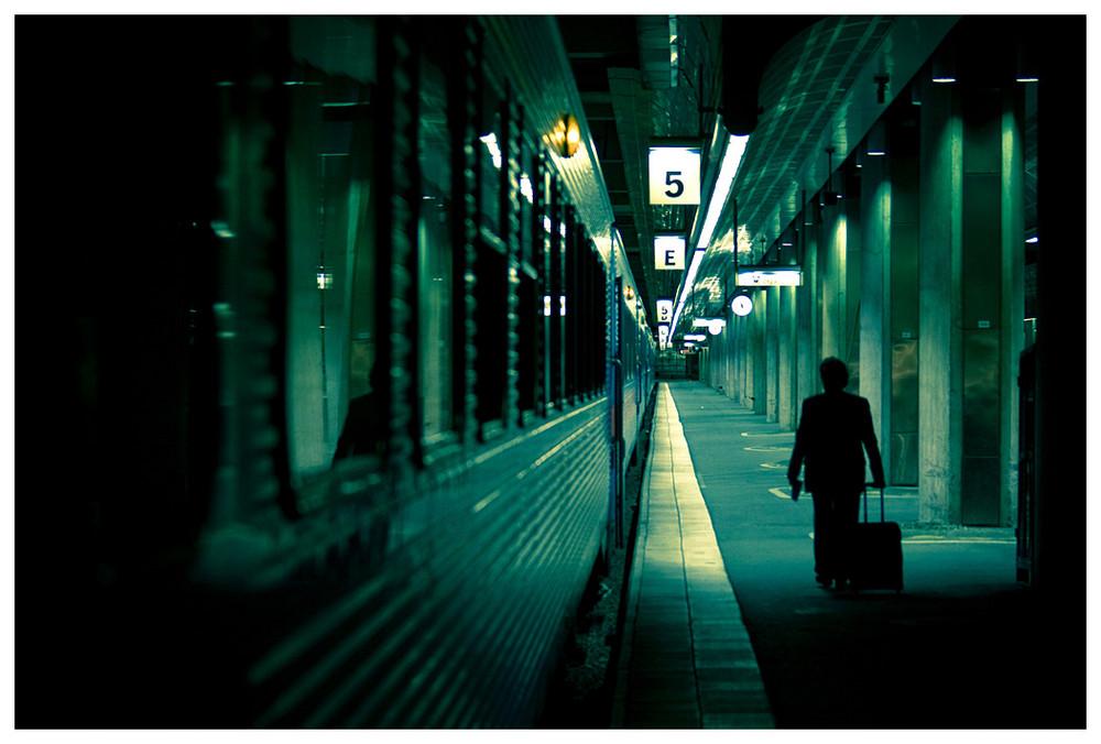 The last passenger...
