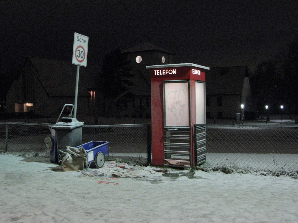 The last public telephone