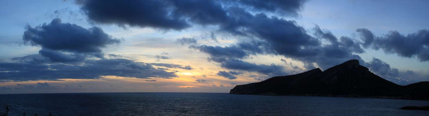 The last Sunset of 2012 from Mallorca