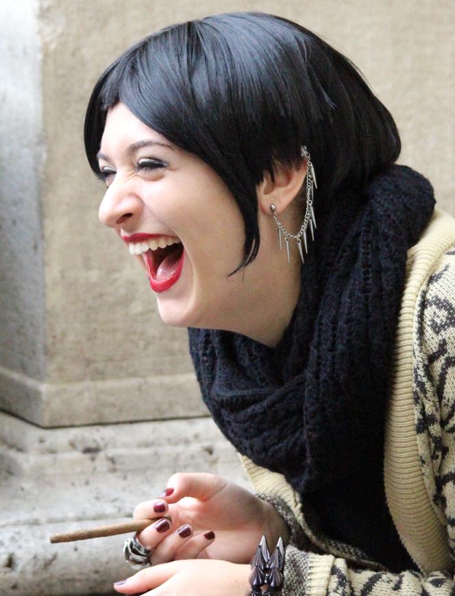 the laugh