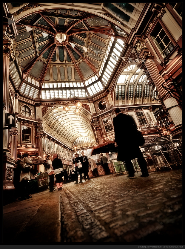• The Leadenhall Market •