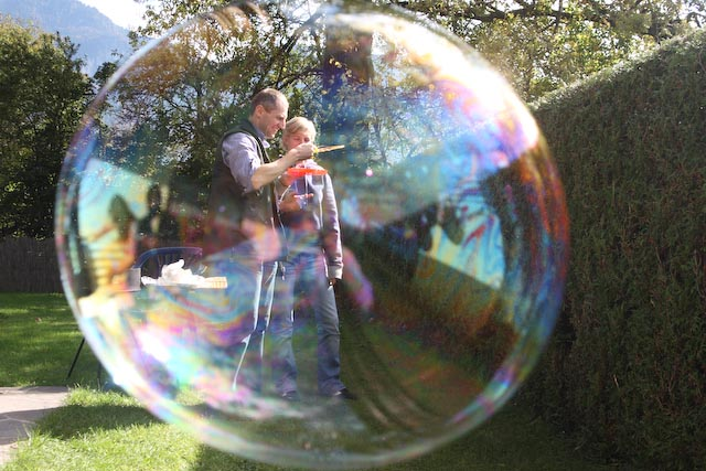 The Life In A Bubble