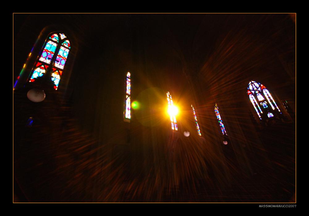 The Light of God...