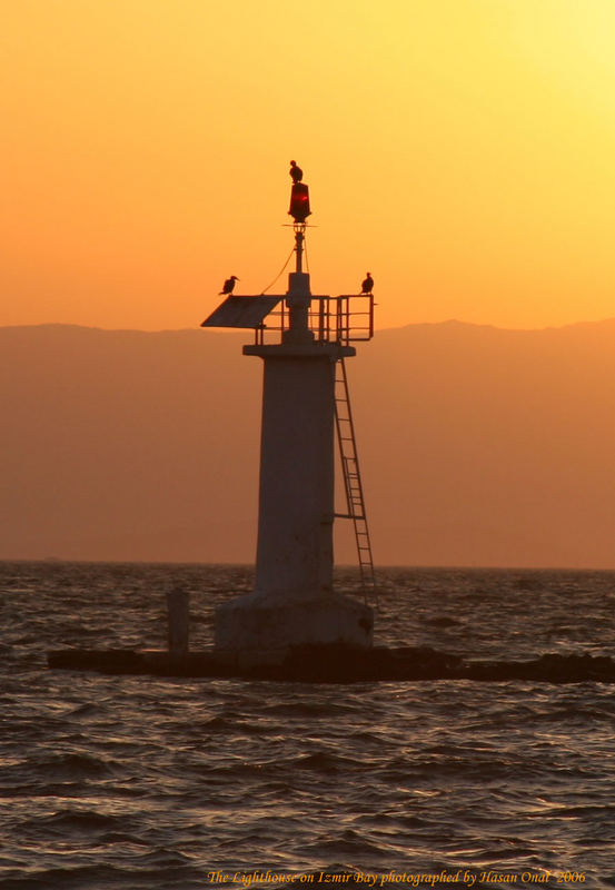 The Lighthouse on Izmir Bay 2006...