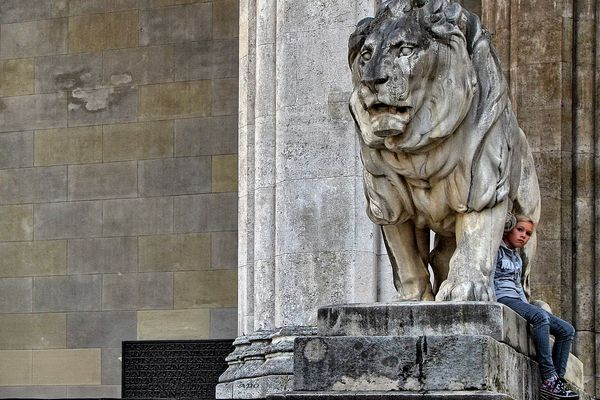 The Lion in Munich