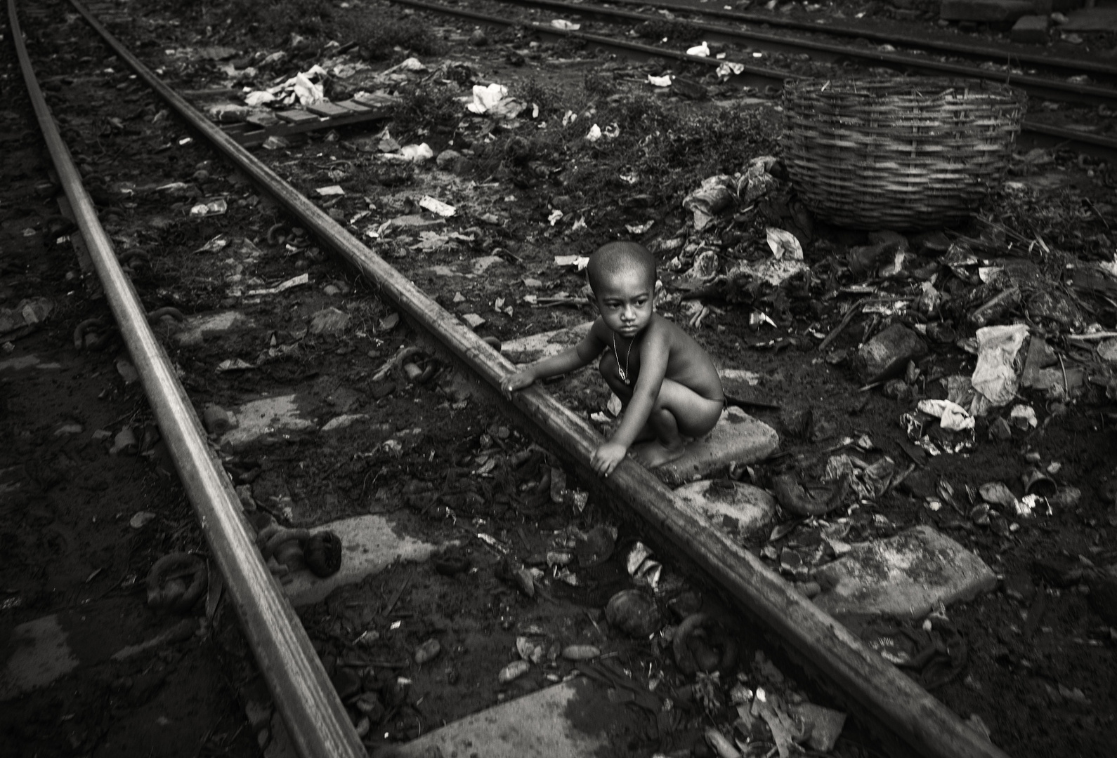 The little Boy of the Railway track