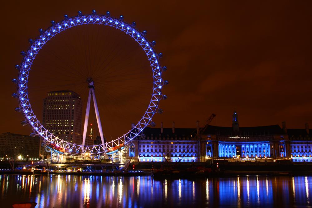 The London Eye - Lightshow