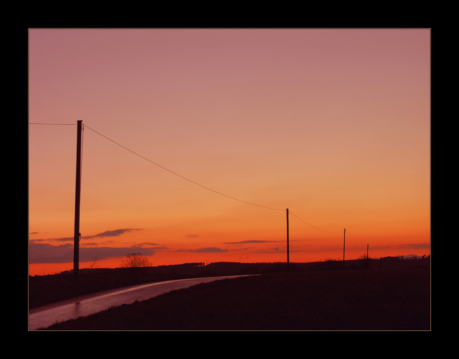 THE LONG LONG WAY HOME... oder: die Sehnsucht...