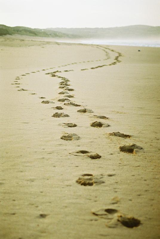 The long walk home!