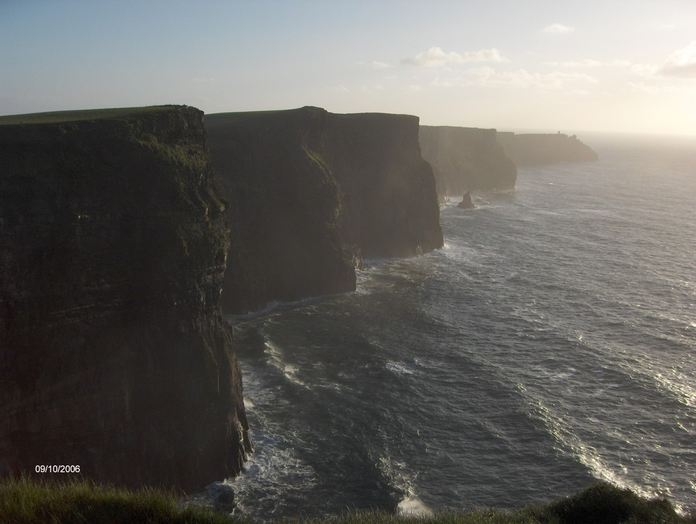The magic of the cliffs of Moher