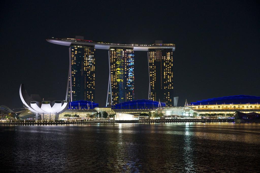 The Marina Bay Sands Hotel, Singapore 2012