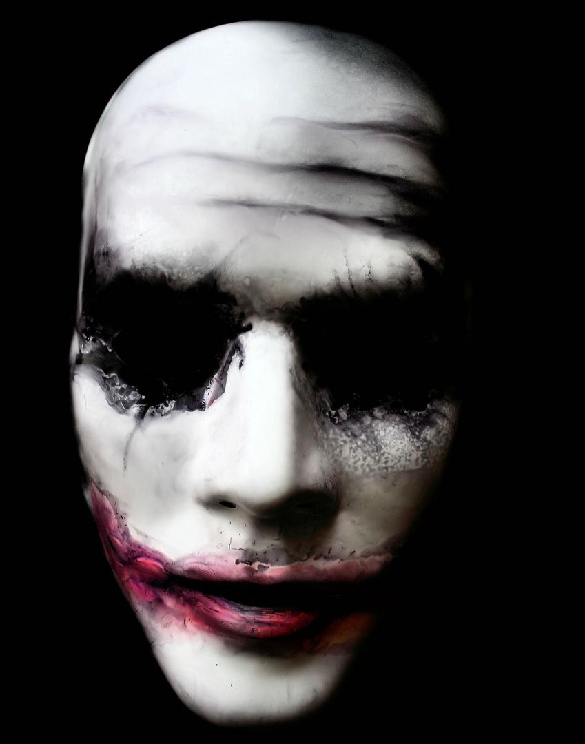 the mask of joker