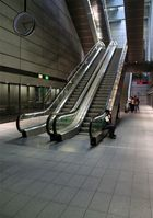 The metro station in Copenhagen
