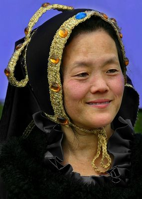 The Middle Ages (107) : Mongolian Lady