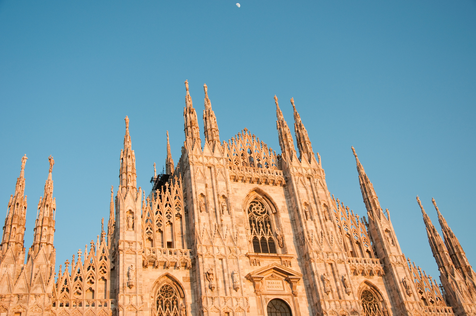 The Moon Over Milan