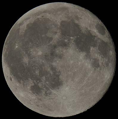 the moon,la lune, der Mond...immer der selbe Vollmond
