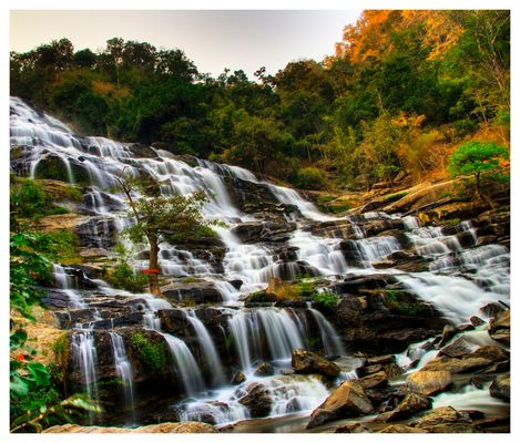The most beautiful waterfall around Chiang Mai - Northern Thailand