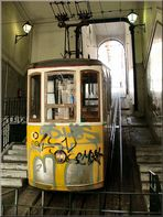 The most famous Lift of Lisbon
