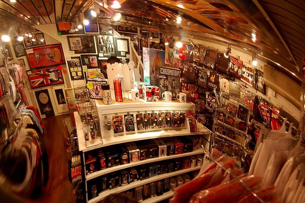 The music shop.LOndon