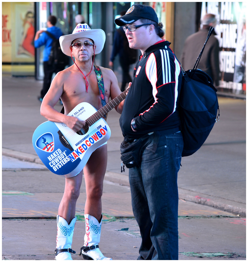 The Naked Cowboy I
