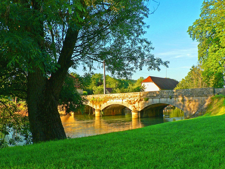 The Napoleonian Bridge in Arlay