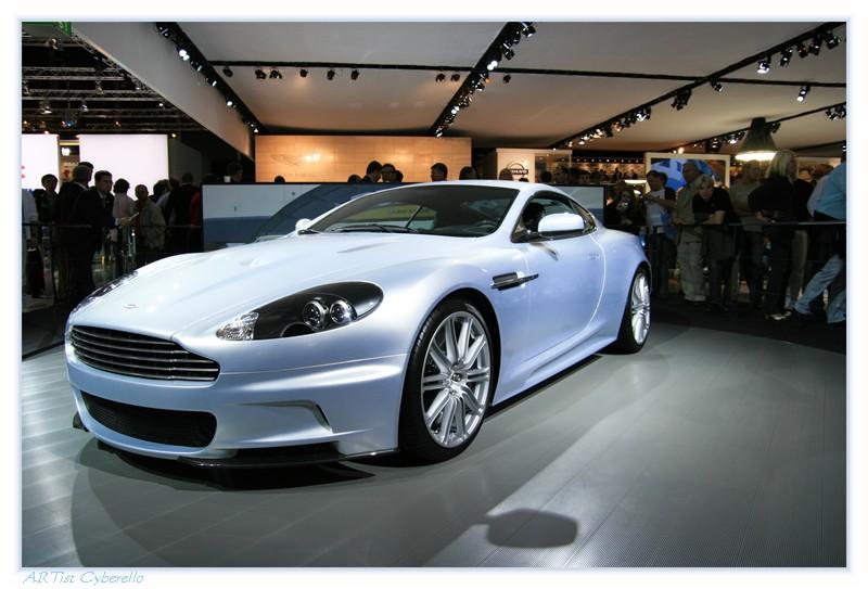 the new Aston Martin