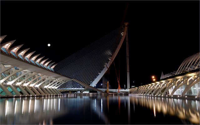 The New Bridge & The Moon